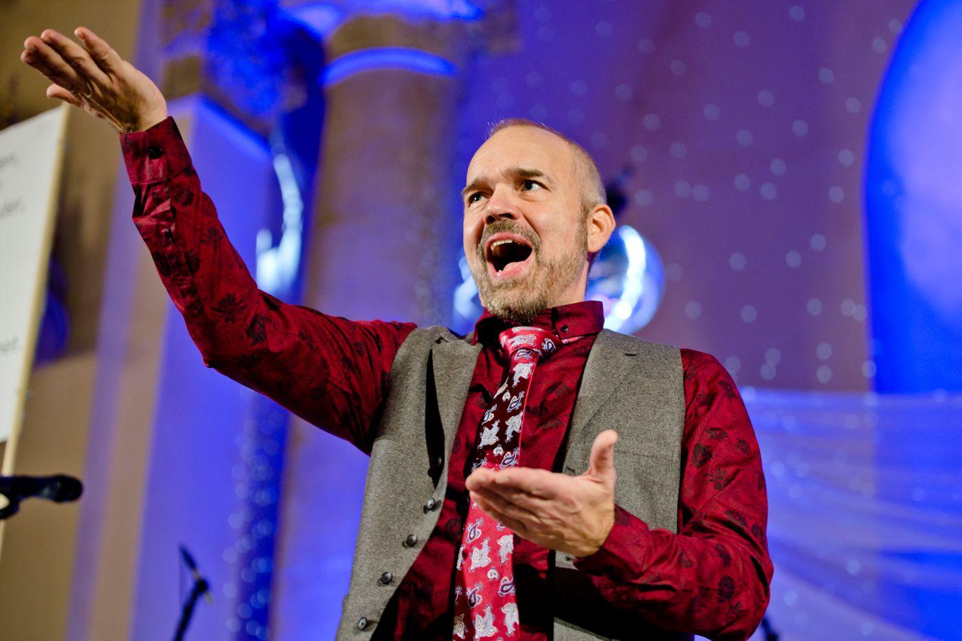 Sverker Domarm, dirigent för Estradkören